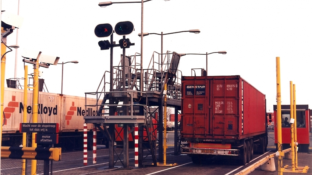 Container Code Reader in the Netherlands